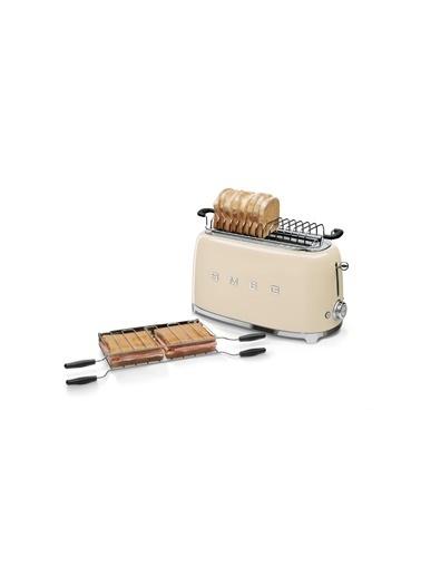 Smeg TSF02CREU Linea 50's Retro Style Krem Dörtlü Ekmek Kızartma Makinesi Krem